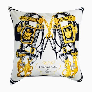Vintage Hermes Cushion by Dinsh London
