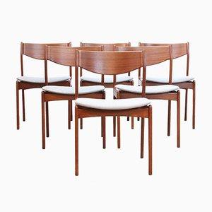 Chaises de Salle à Manger par Erik Buch pour OD Mobler, Danemark, années 60, Set de 6