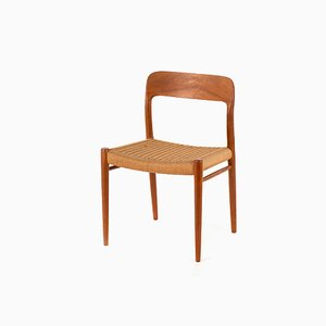 Mid-Century Teak Model 75 Dining Chair by Niels Otto Møller for J.L. Møllers, 1960s