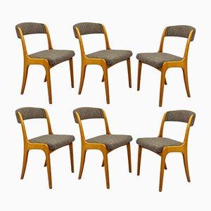 Vintage Gondola Esszimmerstühle von Joamin Baumann für Baumann, 6er Set