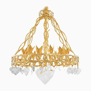 Model Chaîne Coeur Chandelier by Robert Goossens, 1960s