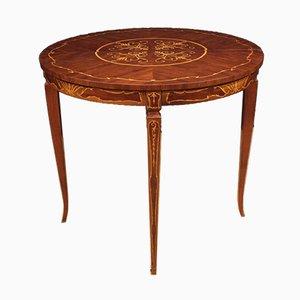 Italienischer Spieltisch aus Holz mit Intarsien, 1960er