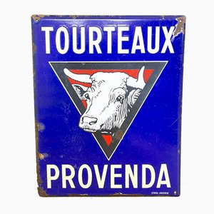 Antique Enamel Sign from Email Laborde