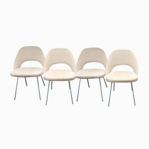 Sedie da pranzo Mid-Century di Eero Saarinen per Knoll Inc. / Knoll International, anni '50, set di 4