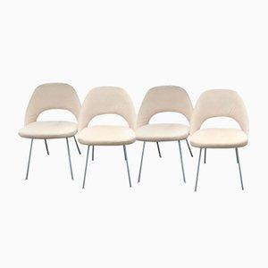 Sillas de comedor Mid-Century de Eero Saarinen para Knoll Inc. / Knoll International, años 50. Juego de 4