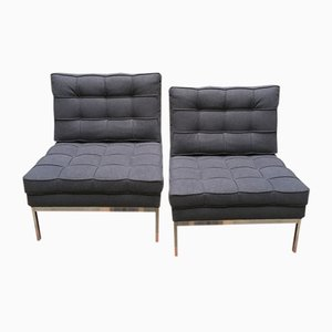Mid-Century Model 65 Lounge Chairs by Florence Knoll for Knoll Inc. / Knoll International, 1960s, Set of 2