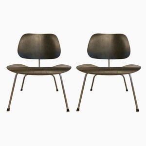 Modell LCM Stühle von Charles & Ray Eames für Herman Miller, 1970er, 2er Set