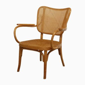Model A 821 Armchair by Eberhard Kraus for Thonet, 1930s