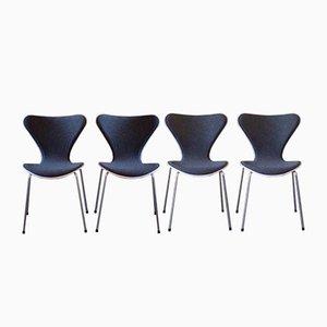 Esszimmerstühle von Arne Jacobsen für Republic of Fritz Hansen, 2006, 4er Set