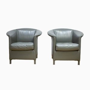 Antique Model Aura Armchairs by Paolo Piva for Wittmann, Set of 2