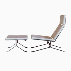 Vintage Model Neo Armchair and Ottoman Set from Bolia