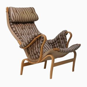 Vintage Model Pernilla 69 Armchair by Bruno Mathsson for Dux