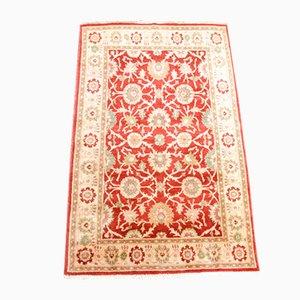 Vintage Afghan Woolen Uşak Carpet, 1990s