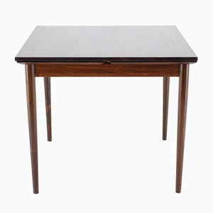 Rosewood and Teak Extendable Dining Table, 1960s