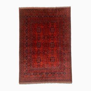 Vintage Afghan Khan Tribal Rug, 1950s