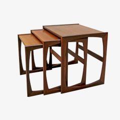 Teak G-Plan Nesting Tables, 1960s, Set of 3