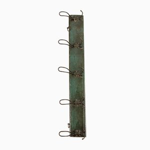 Vintage Green Coat Rack, 1950s
