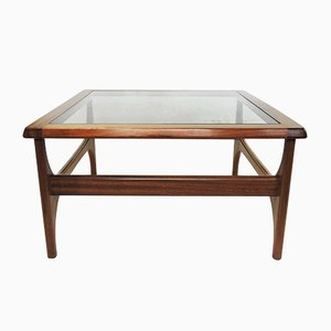 Vintage Square Coffee Table from Stonehill, 1970s
