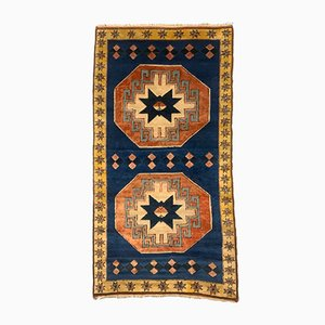 Vintage Turkish Tribal Rug, 1980s