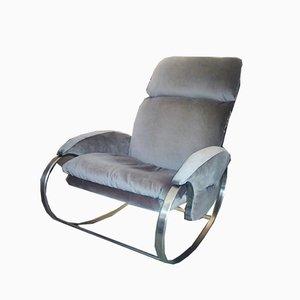 Rocking Lounge Chair by Guido Faleschini, 1970s