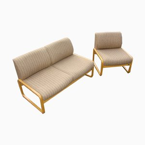 Sofa and Armchair Set from Wilkhan, 1970s