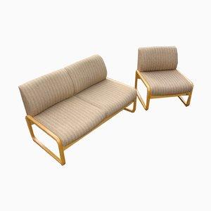 Sofa & Sessel Set von Wilkhan, 1970er