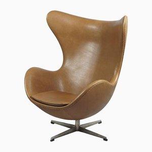 Chaise Œuf par Arne Jacobsen pour Fritz Hansen, années 60