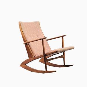 Mid-Century Rocking Chair by Holger Georg Jensen for Tønder Møbelværk, 1950s