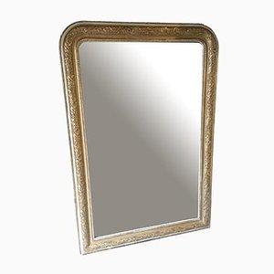 Grand Miroir Doré d'Époque