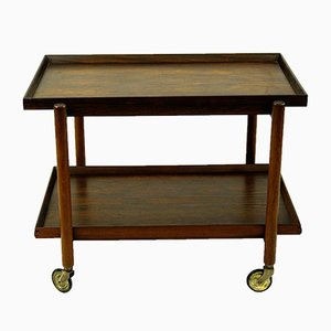 Rosewood Trolley by Poul Hundevad for Hundevad & Co., 1960s