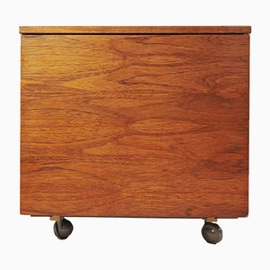 Mid-Century Teak Record Cabinet from Elliots of Newbury, 1960s