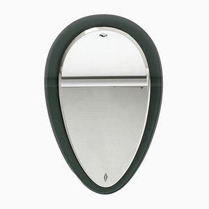 Grand Miroir Double en Verre de Fontana Arte, années 60