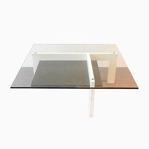 Table Basse Modèle LTG par Sjaak Spoorendonk pour Castelijn, Pays-Bas, années 80