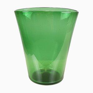 Vase Vert de Taddei, années 50