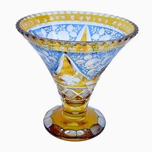 Vase Vintage en Cristal