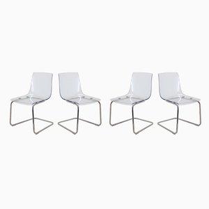 Sedie da pranzo di Ikea, anni '90, set di 4