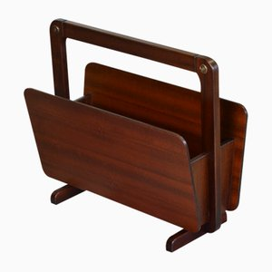 German Rosewood Magazine Rack from Union, 1960s