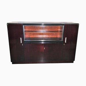 Vintage Rosewood Vitrine Cabinet