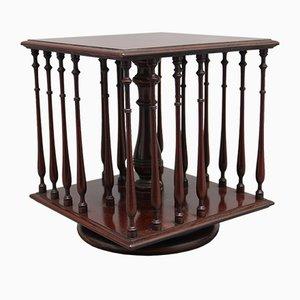 19th Century Mahogany Revolving Bookstand