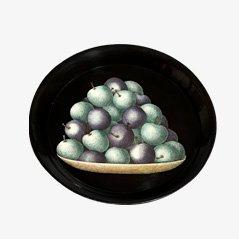 Vassoio con frutta di Piero Fornasetti per Fornasetti, anni '60