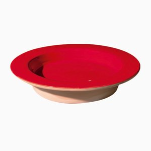 Novi Centerpiece in Red by Mario Scairato for Internoitaliano