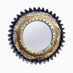 Vintage Keramikspiegel