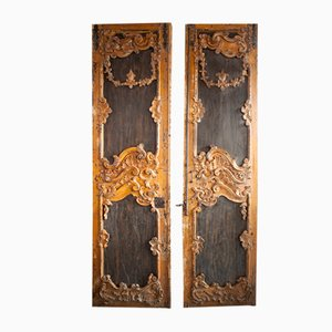 Antique Portuguese Doors, Set of 2