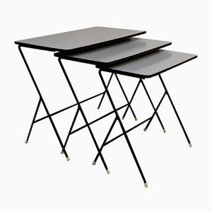 Tavolini ad incastro di Artimeta, anni '50