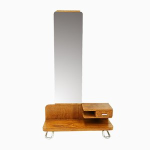 Bauhaus Mirrored Dresser from Gottwald, 1930s