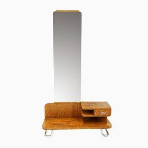 Cajonera Bauhaus con espejo de Gottwald, años 30