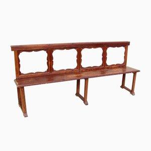 Antike Sitzbank aus Tannenholz