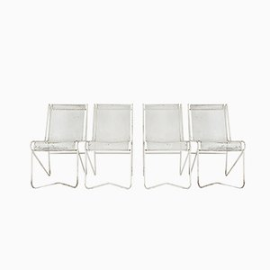 Living Room Set by Mathieu Matégot for Ateliers matégot, 1950s, Set of 4