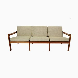 Danish Teak 3-Seater Sofa by Illum Wikkelsø for Niels Eilersen, 1960s