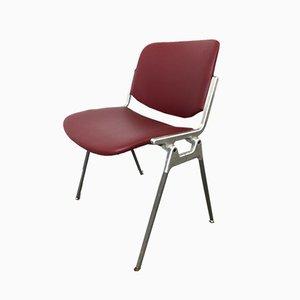 Chaise de Bureau Modèle 106 par Giancarlo Piretti pour Castelli / Anonima Castelli, années 60